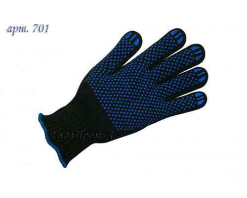 Перчатки вязанные трикотажные полушерстяные 7 класс