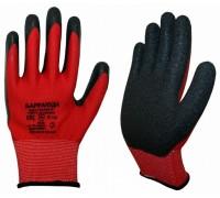 Нейлоновые перчатки со вспененным латексным покрытием 13 класс