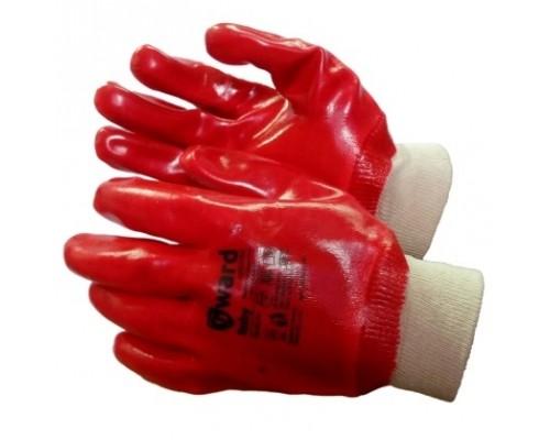 Перчатки МБС с ПВХ покрытием с манжетом-резинкой (ГРАНАТ)