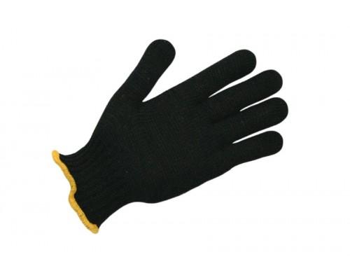 Перчатки рабочие х/б 10 класс (чёрные)